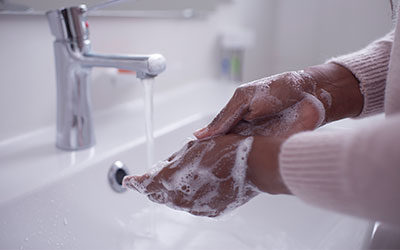 Washing your hands will help to save the planet